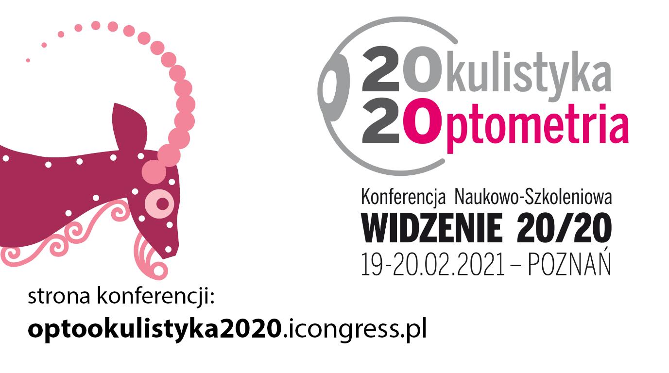 Konferencja Naukowo-Szkoleniowa WIDZENIE 20/20 (online)