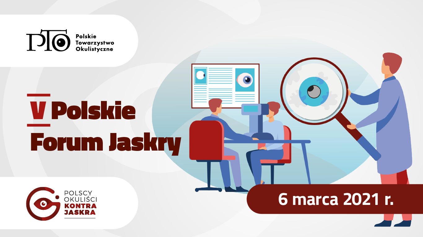 V Polskie Forum Jaskry 2021 [ONLINE]